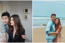 8 Momen Rebecca Tamara dan Hessel Steven liburan di Bali, kompak