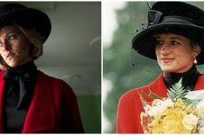 Potret Kristen Stewart saat perankan Putri Diana, bak kembar