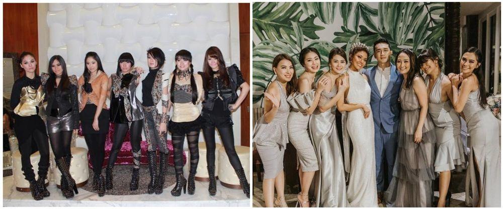 potret lawas dan kini girlband © berbagai sumber