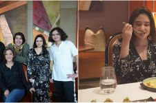 10 Momen dinner keluarga Maia Estianty, ajak Tissa Biani makan emas