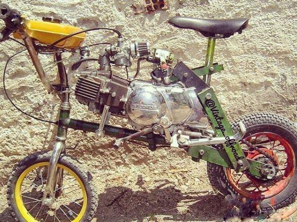 modifikasi motor gunakan Instagram