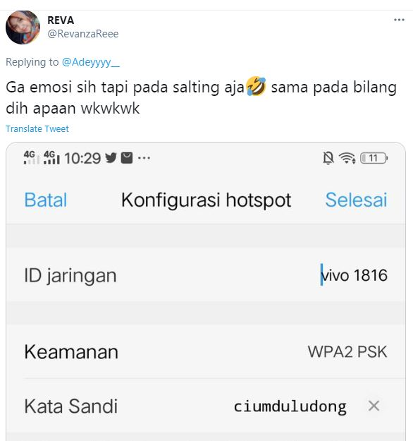 10 Obrolan tanya password wifi istimewa