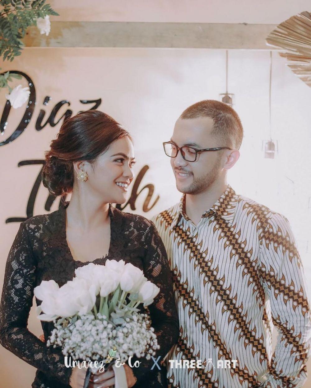 pertunangan indah indriana © Instagram