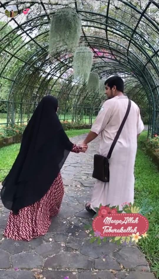 Sheina Abdat dan suami © Instagram
