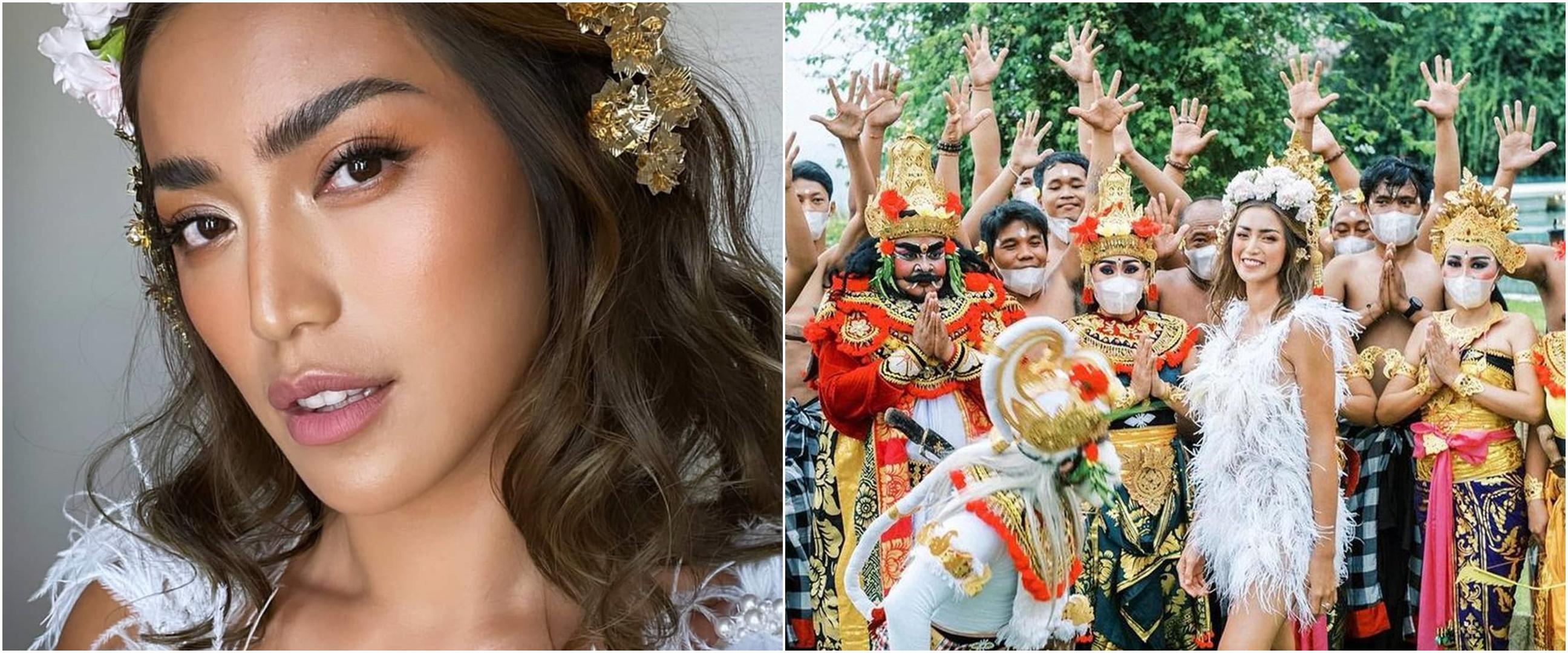 8 Momen perayaan ultah Jessica Iskandar ke-33, meriah ada tari Kecak