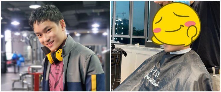 7 Momen Azka Corbuzier di-make over Ivan Gunawan, rambut baru disorot