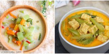 8 Resep lodeh labu siam, praktis ala masakan rumahan