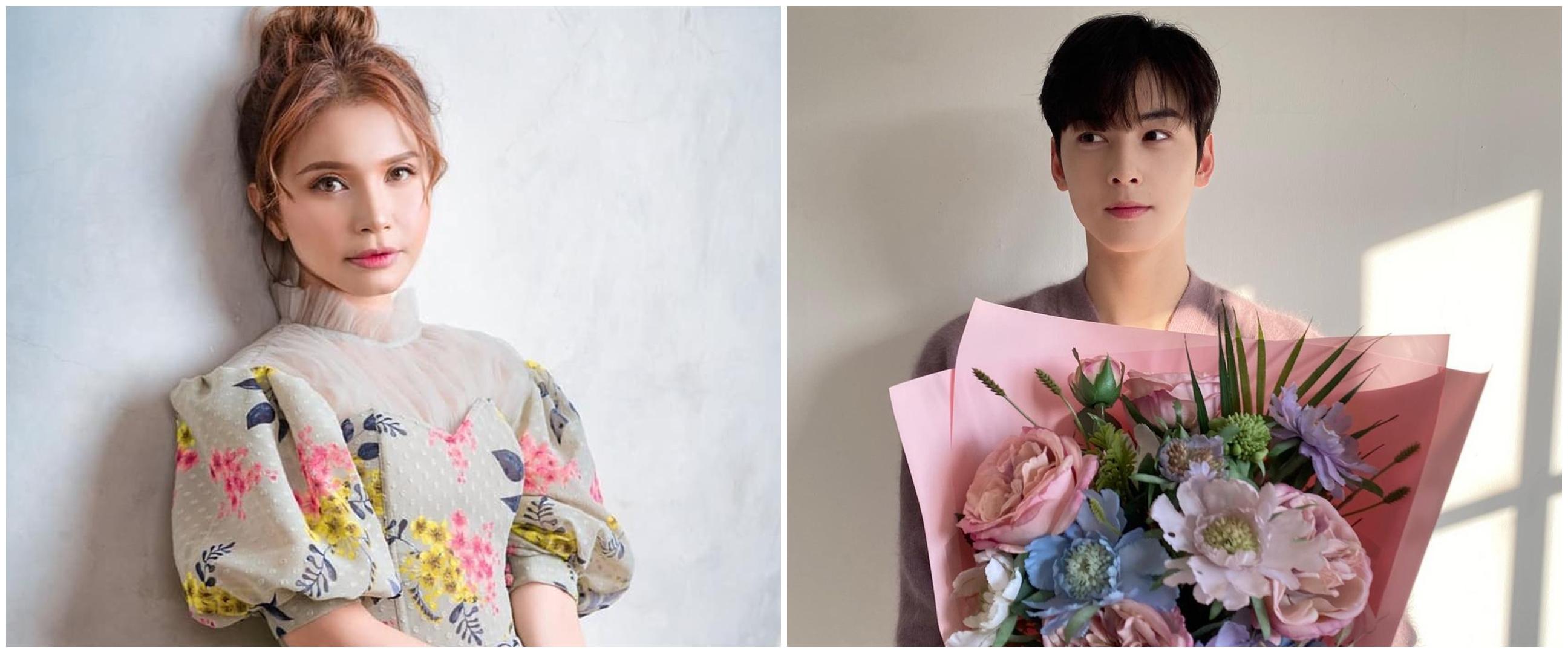 Rossa unggah foto bareng Cha Eun-woo, fans True Beauty heboh