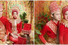 8 Pemotretan Dinda Hauw dan Rey Mbayang pakai baju Manado, memesona
