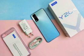 7 Keunggulan Vivo Y20s, smartphone entry level yang tampil elegan