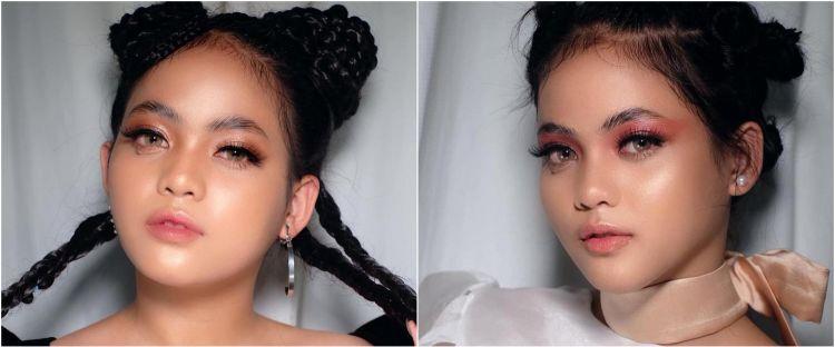 7 Potret Putri DA dengan makeup tebal, makin memesona dan manglingi