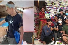 10 Aksi Fauzi Baadilla jadi relawan gempa Sulawesi Barat, bikin salut