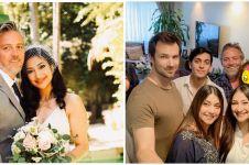 9 Potret keluarga Rahma Azhari di AS, mertuanya artis Hollywood