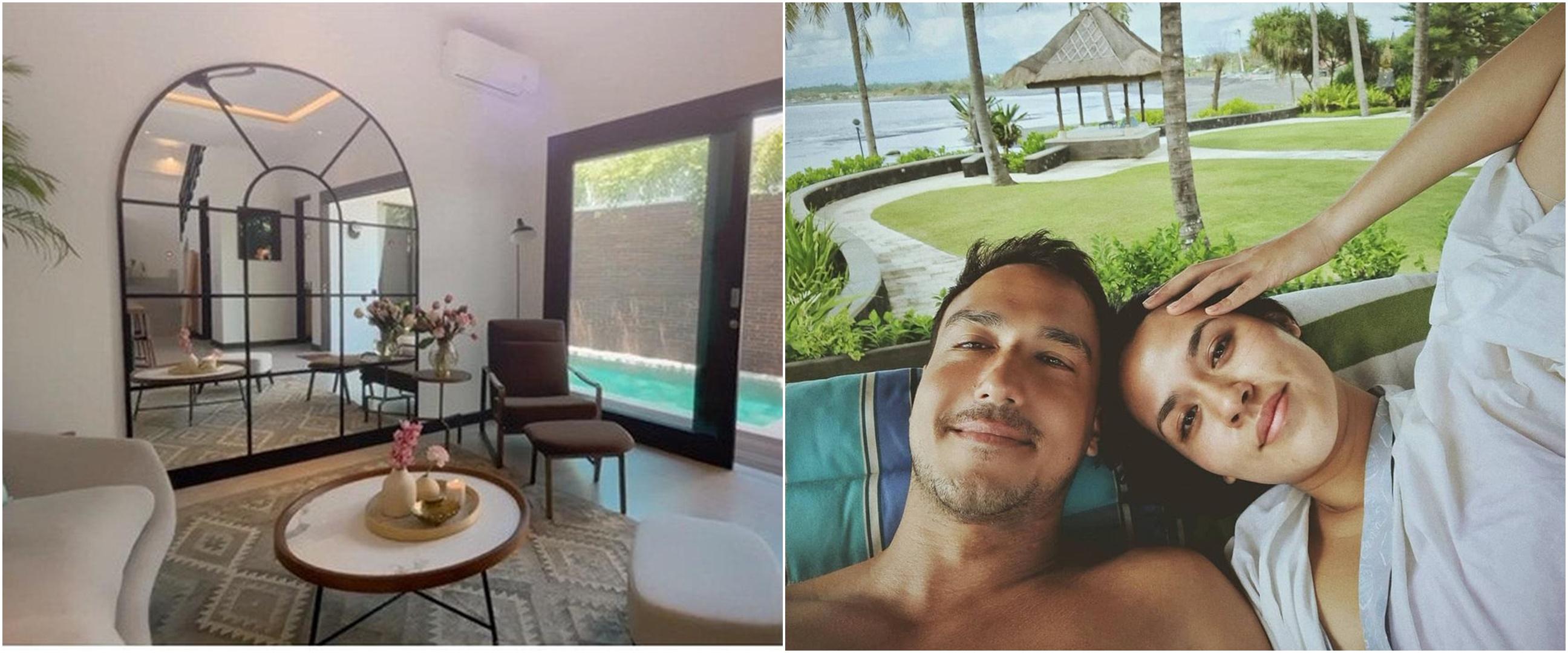 8 Potret sudut rumah baru Raisa dan Hamish di Bali, mulai isi perabot