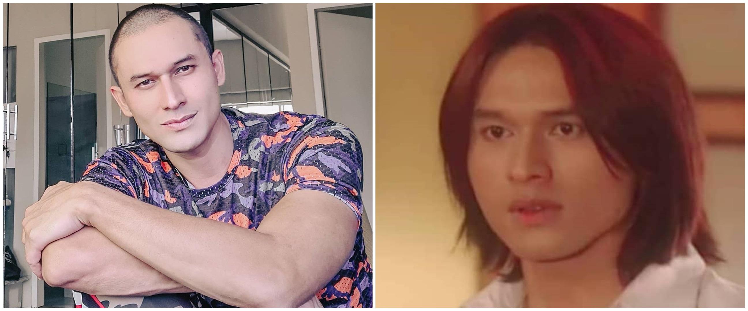 10 Transformasi gaya rambut Indra Bruggman, gondrong hingga botak