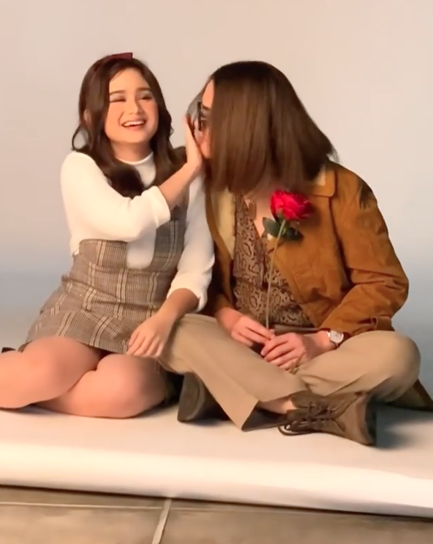 Momen pemotretan Dul Jaelani  dan Tissa Biani Instagram