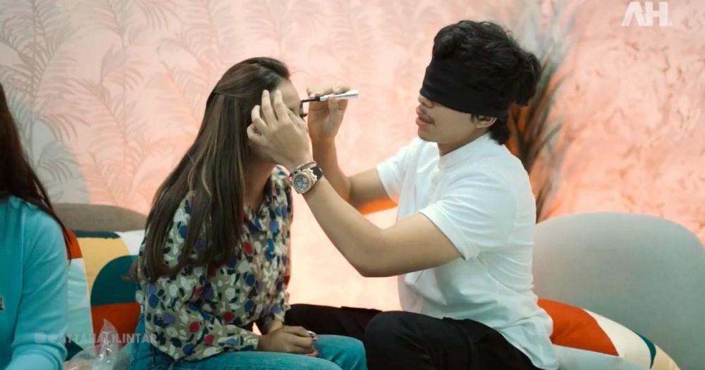 Atta aurel makeup challenge © 2021 brilio.net