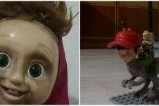 10 Potret absurd mainan anak ini endingnya bikin senyum miris