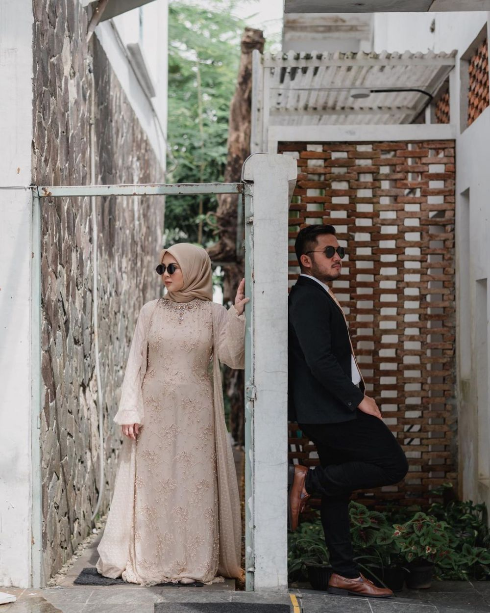 prewedding Kesha dan Adhi © 2021 brilio.net