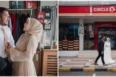 8 Potret prewedding Kesha Ratuliu dan Adhi Permana, simpel tapi elegan