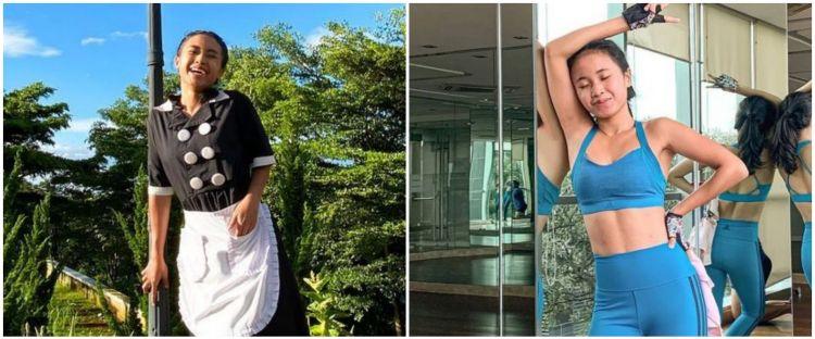 Momen 8 pemain Ikatan Cinta saat olahraga, Arya Saloka bikin salfok