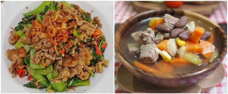 11 Resep kreasi sayur dan daging, penuh gizi dan bikin nagih