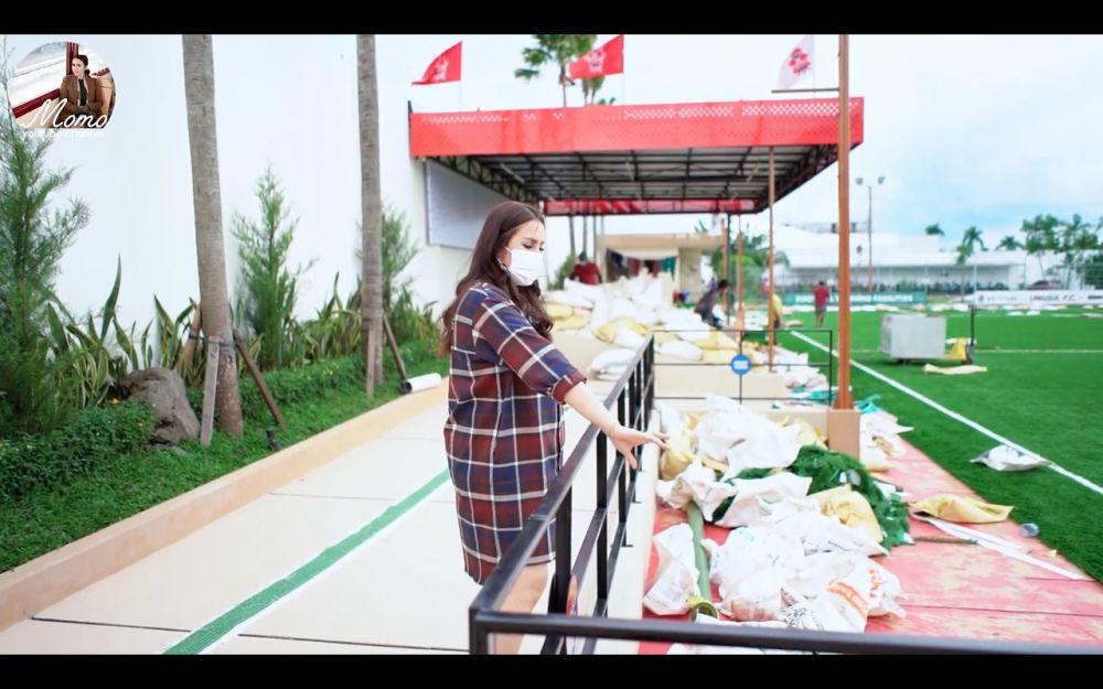 lapangan bola anak Momo Geisha YouTube
