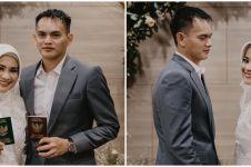 10 Momen pernikahan kedua Ikke Nurjanah & Karlie Fu, digelar tertutup