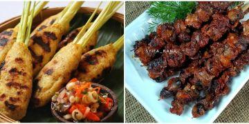 6 Resep sate seafood, enak, mewah dan mudah dibuat