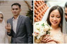 Beda gaya 10 seleb cantik saat menikah di usia 40-an, sweet abis