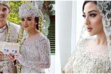 10 Momen akad nikah Ali Syakieb dan Margin Wieheerm, penuh khidmat