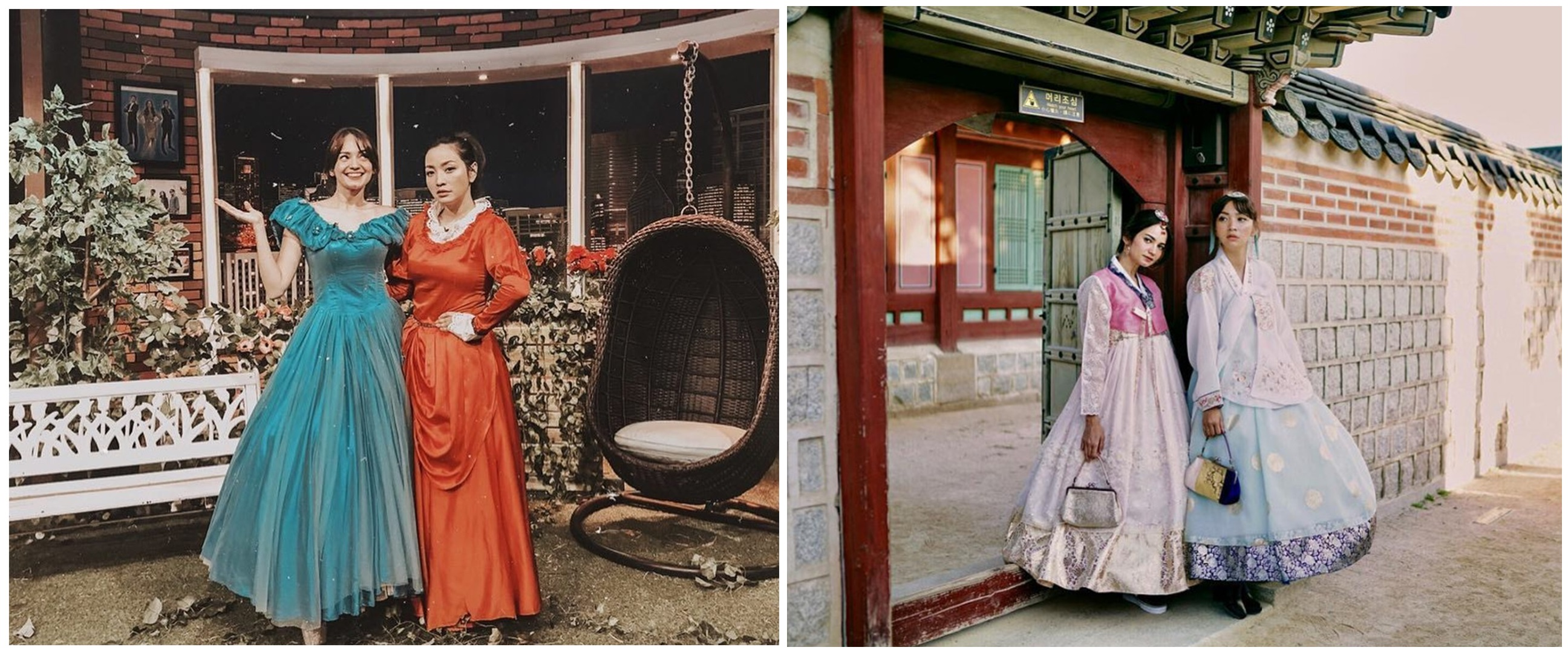 10 Potret persahabatan Hesti Purwadinata dan Enzy Storia, bak seumuran