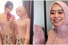 9 Pesona Lesty Kejora jadi bridesmaid Ali Syakieb dan Margin Wieheerm