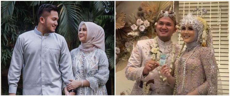 10 Momen akad nikah Kesha Ratuliu dan Adhi Permana, khidmat