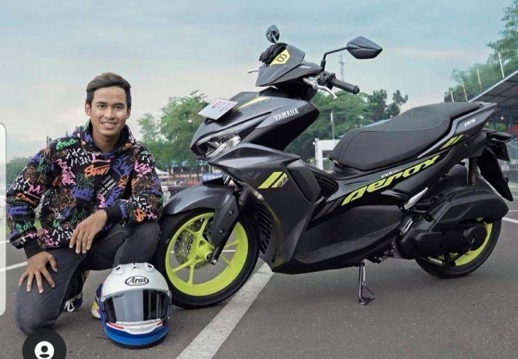 3 Pengalaman Galang Hendra Pratama menjajal skutik sporty Yamaha