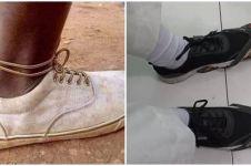 10 Cara pakai sepatu antimainstream ini bikin senyum lebar