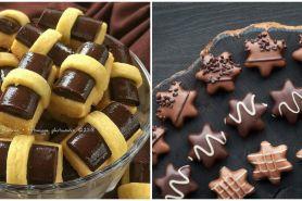 9 Resep kue kering dari cokelat batang, enak dan mudah dibuat