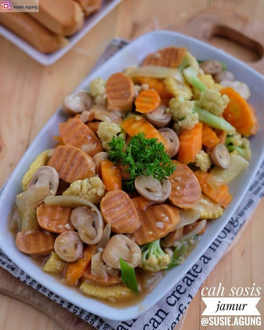 Resep cah jamur ala rumahan cookpad ; Instagram © 2021 brilio.net