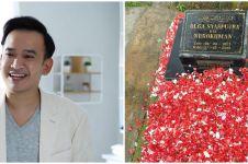 Ruben Onsu ziarah ke makam Olga Syahputra, potretnya jadi sorotan