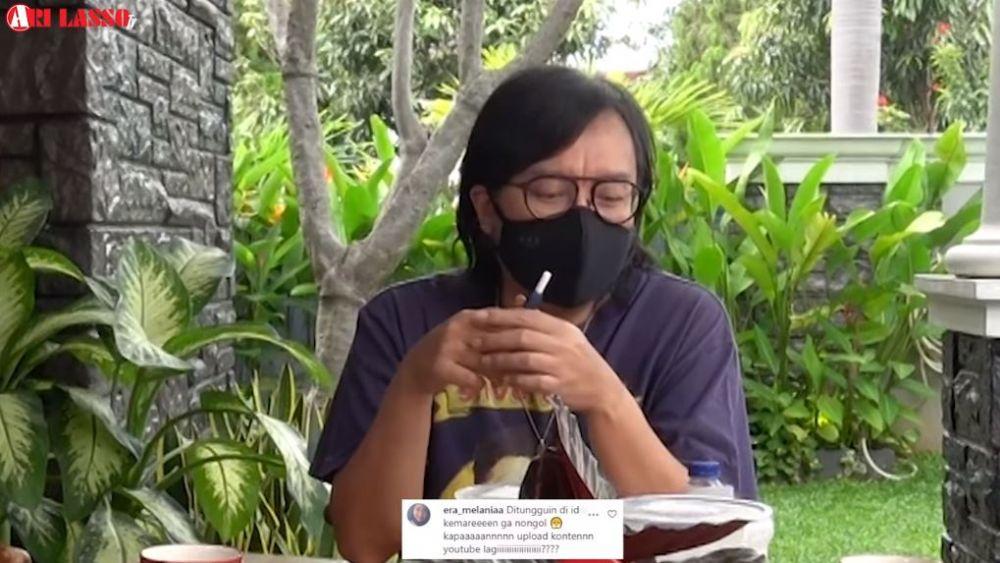 Cerita perjuangan Ari Lasso sembuh dari Covid-19 YouTube© 2021 brilio.net