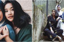 8 Momen kebersamaan Ikke Nurjanah & Siti Adira, bak kakak beradik