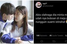 11 Curhatan momen romantis sama gebetan di sekolah, kocak