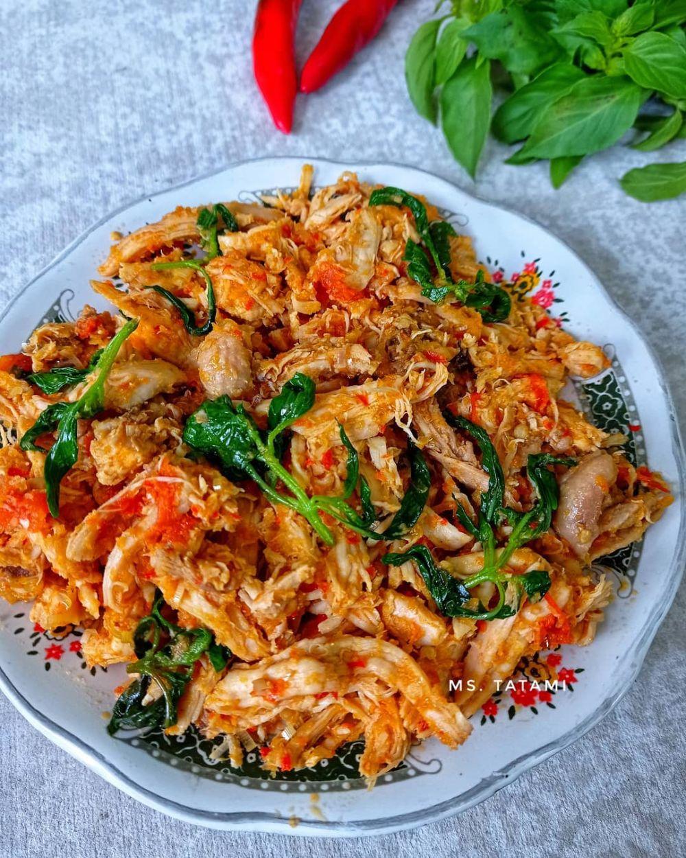 resep ayam kemangi Instagram © 2021 brilio.net
