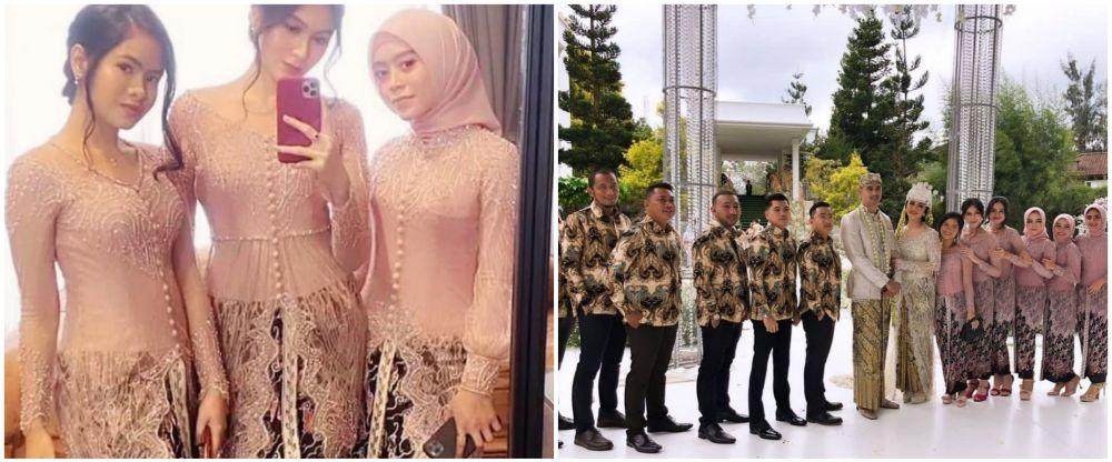 Gaya Lesty Kejora hadiri nikahan © 2021 brilio.net