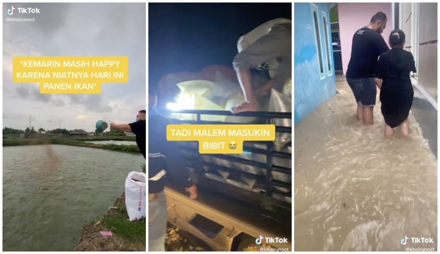 gagal panen karena banjir © TikTok