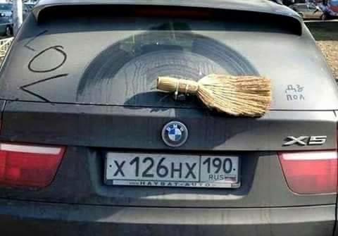 solusi nyeleneh mobil bersih Berbagai sumber