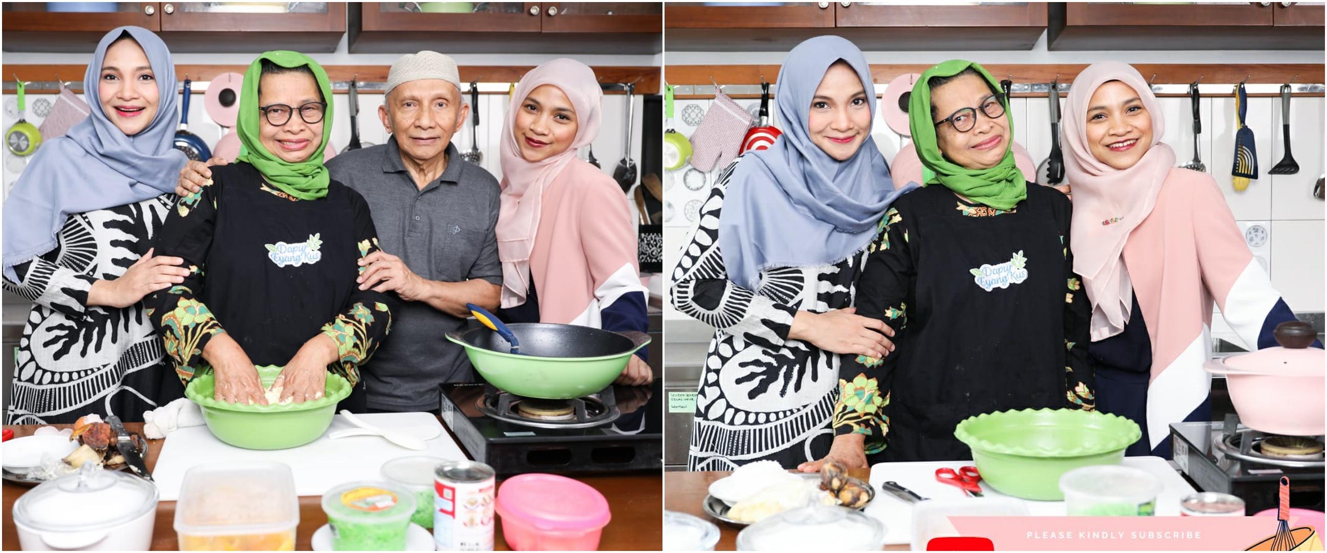 Ultah pernikahan, Amien Rais & istri dapat kado unik dari Hanum Rais