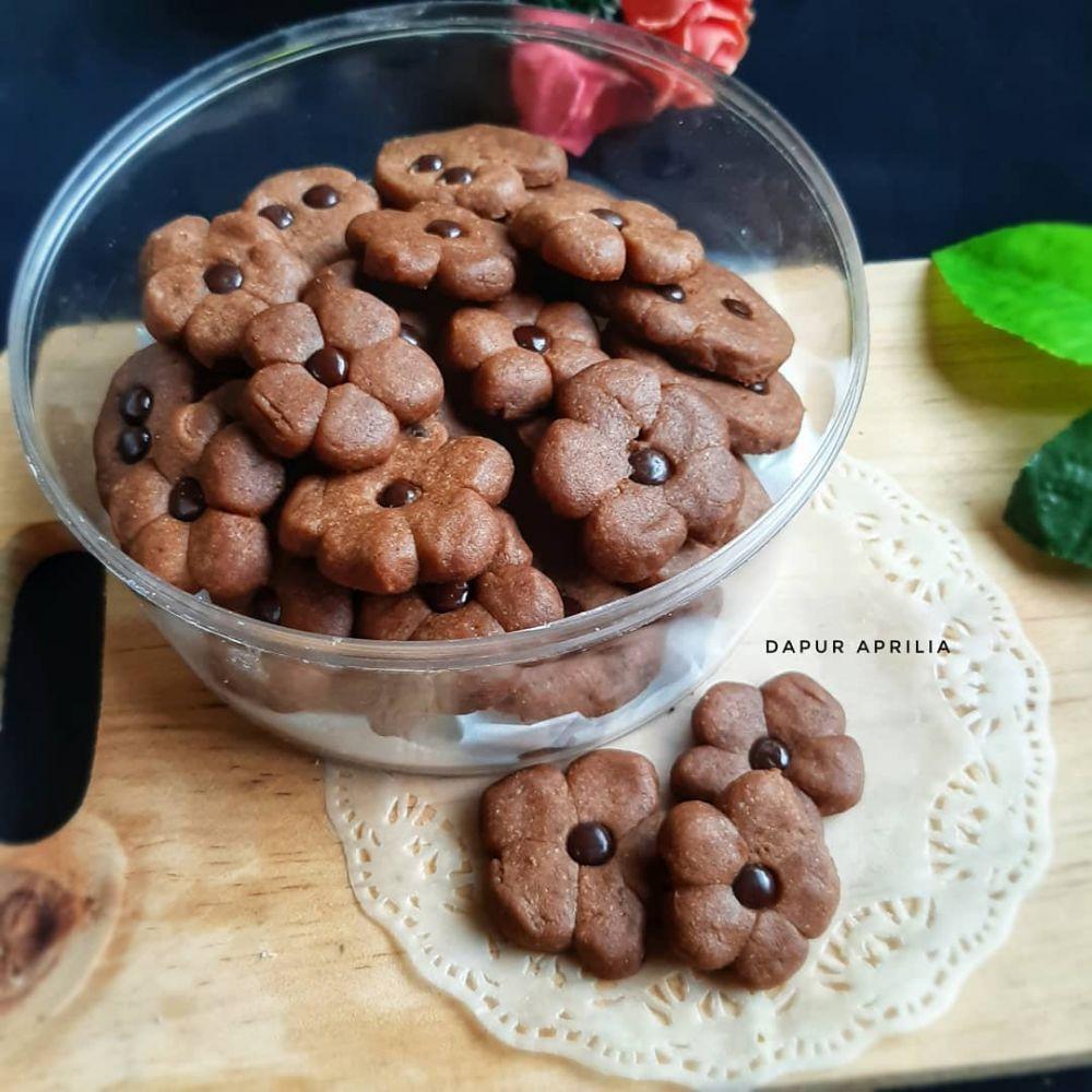 Resep kue kering cokelat tanpa telur Instagram