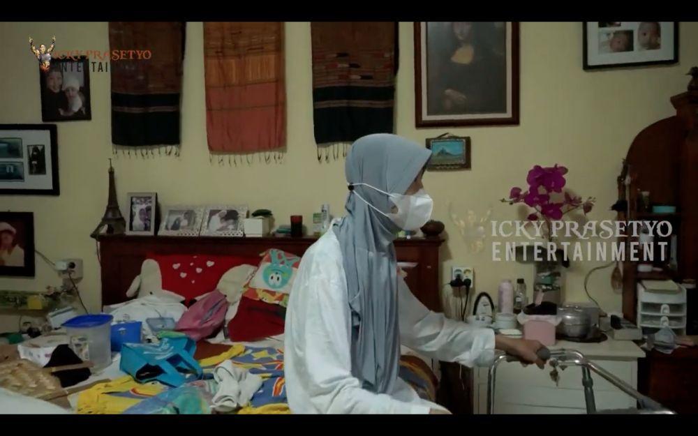 Penampakan rumah ibunda Kalina Ocktaranny YouTube