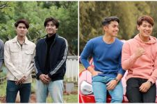 10 Potret persahabatan Rizky Billar, Harris Vriza, dan Ady Sky